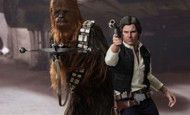 Han Solo and Chewbacca Hot Toys Set For All Star Wars Fans