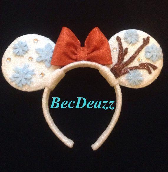 Disney's Frozen Olaf Minnie Mouse Ears headband