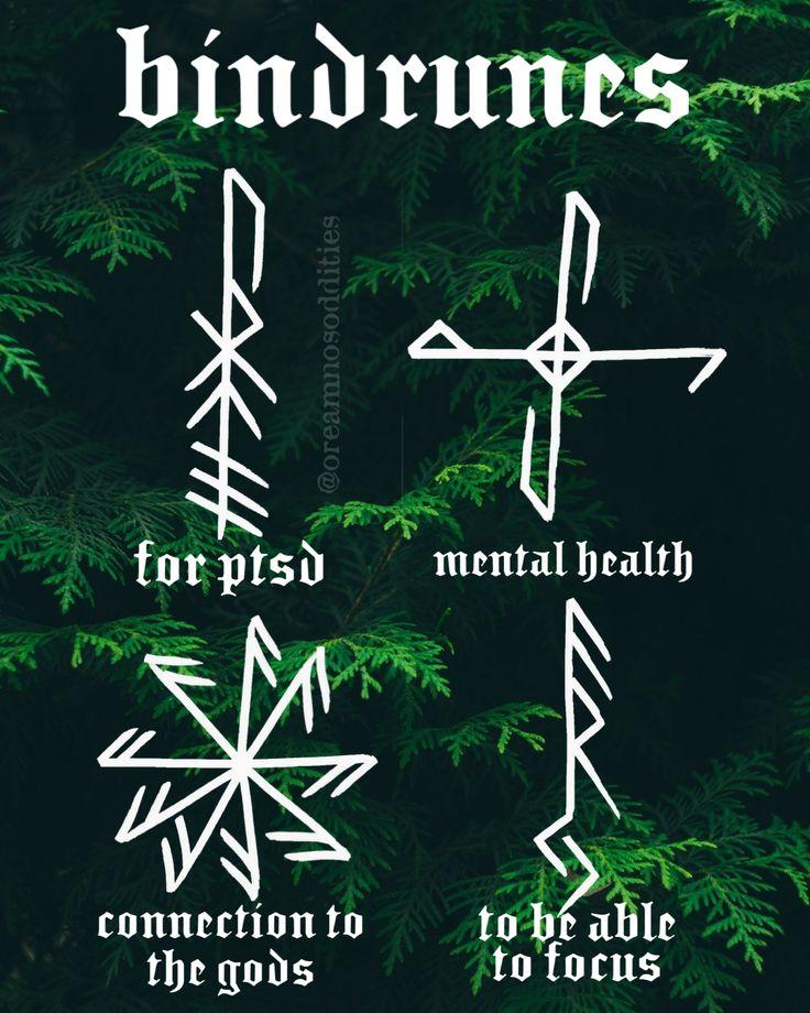 bindrunes | Bindrunes, Norse tattoo, Norse mythology tattoo
