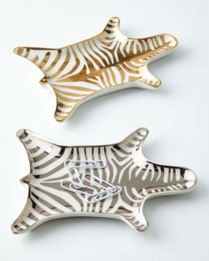 Zebra Trinket Dishes | Jonathan Adler