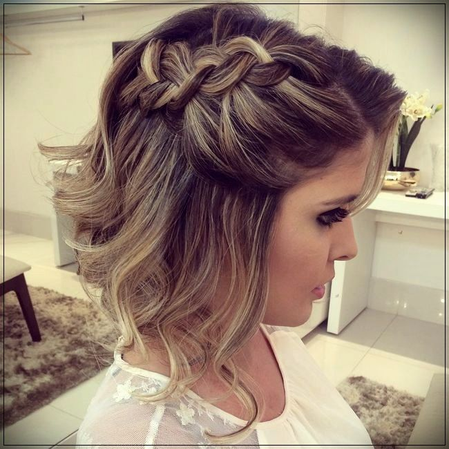 Hairstyles For Party 2019short And Curly Haircuts Short Hair Updo Short Wedding Hair Guest Hair