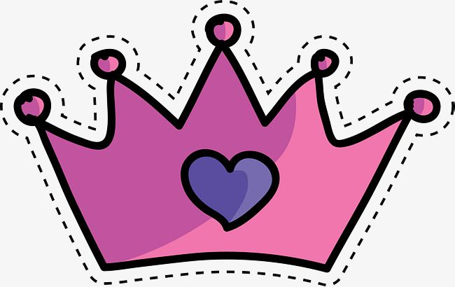 Purple Lovely Crown Crown Vector Cartoon Colour Png Transparent Clipart Image And Psd File For Free Download Crown Png Clip Art Purple