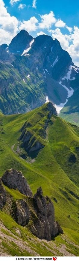 Appenzellerland. Author unknown. original pin adapted to pinterest by iloveswissmade