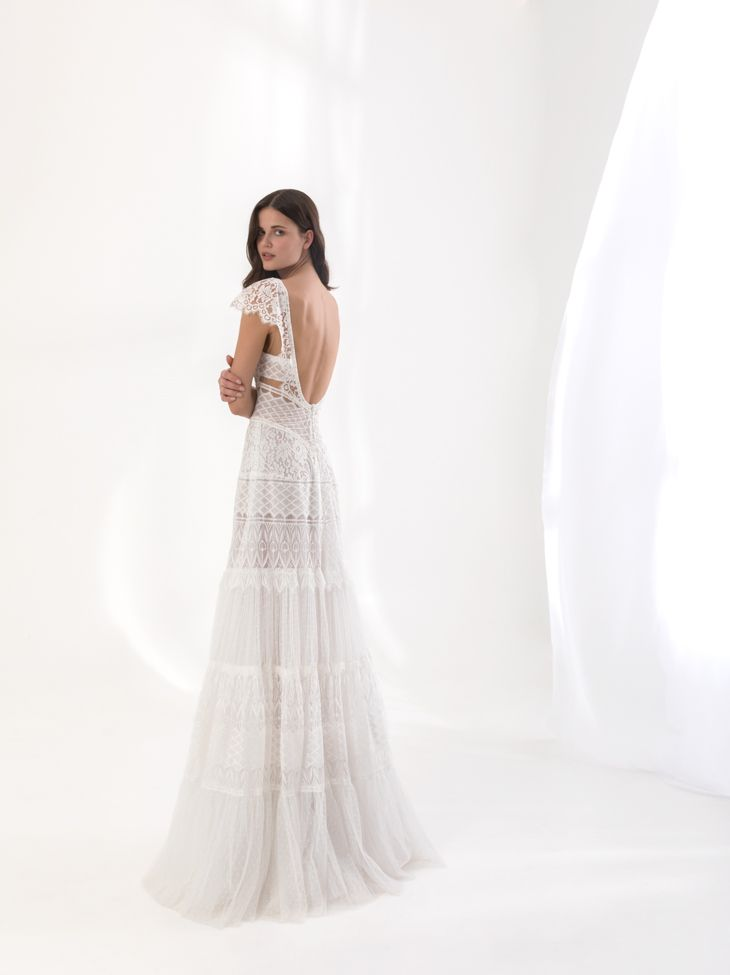 """""""Dione"""" from Costantino's SS18 Dreamland Collection.    #greekdesigners #weddingdress #bridal #couture"""