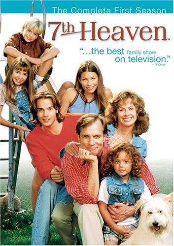 7th Heaven (1996–2007) This weekly television series follows the Camden family as the minister father and stay-at-home mother deal with the drama of having seven children, ranging from toddlers to adults with families of their own.
