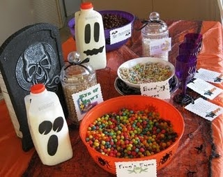 Halloween Activity to Do - breakfast idea. Rename cereals with Halloween names, then give each kid a witch's cauldron to mix up a witch's brew in with the different ingredients. The site has a great poem to go with everything as well as ideas fr cereal renames.