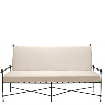 janus et cie amalfi adjustable chain back sofa
