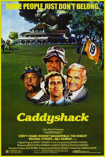 .: Caddyshack 1980, Golf Cour, Movies Poster, Poster Quadro-Negro, Film Poster, Favorit Movies, Caddyshack Poster, Comedy Film, Classic