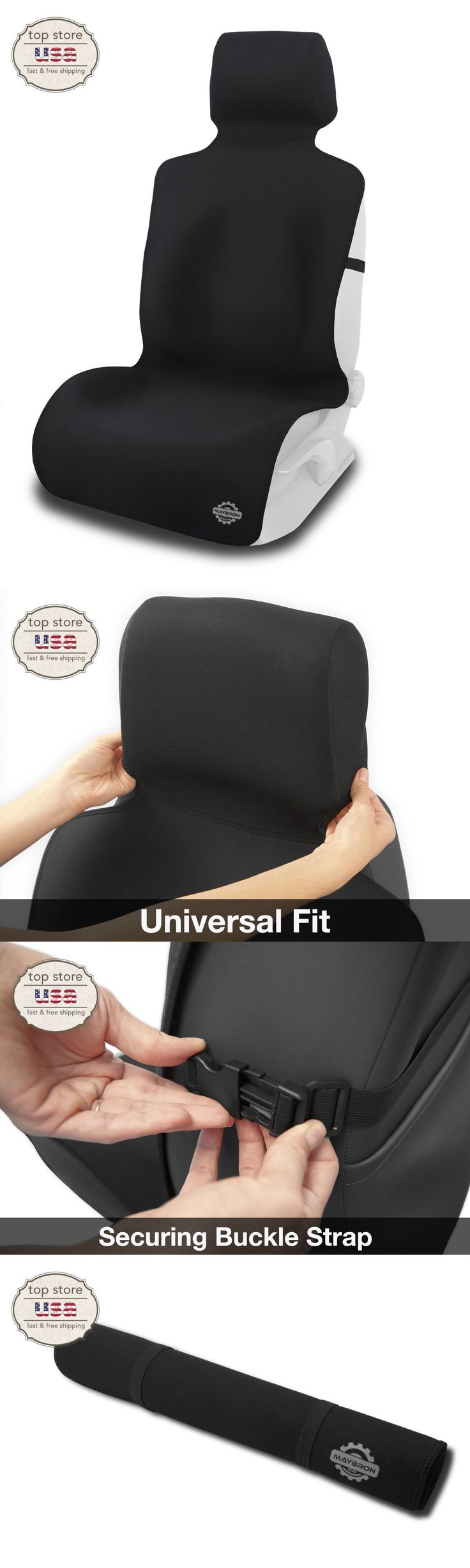 Car Seat Covers 117426: Strong Waterproof Car Seat Cover Seat Saver Protector Great For Sports/Pets New BUY IT NOW ONLY: $43.44