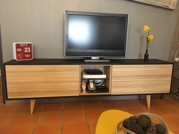 les 30 meilleures images du tableau r alisations de meubles rangements sur pinterest. Black Bedroom Furniture Sets. Home Design Ideas