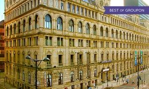 Groupon - Manchester: 1 Night for Two with Breakfast and Option for Dinner and Wine at Britannia Hotel Manchester in City Centre. Groupon deal price: £59