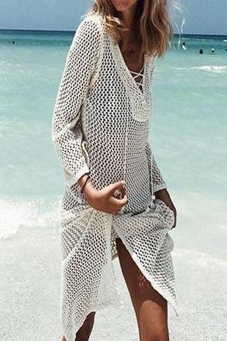 4990a1e5fc7 Beachsissi Long Sleeve Cover Ups   Stuff....   Beach dresses, Beach ...