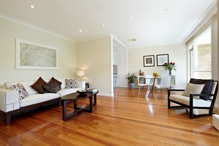Hampton polished floorboards gives very elegant. Also an open plan living.