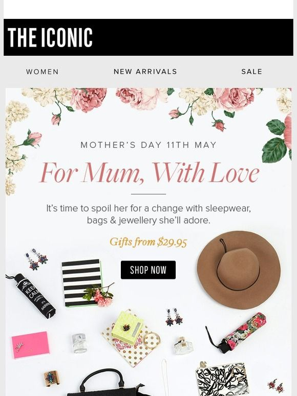 The Mother's Day Gift Guide + 25% Off Bags & Wallets - The Iconic AU