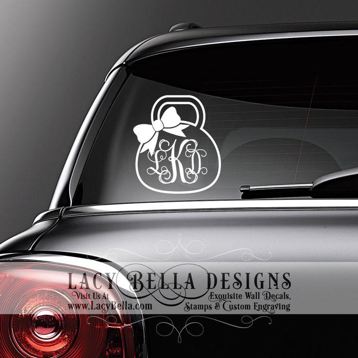 Best Car Decals Images On Pinterest Car Decals Vinyl - Bow custom vinyl decals for car