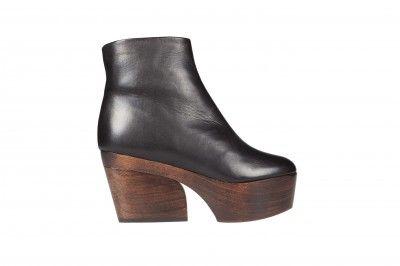 Minna Parikka AW13 collection: Gana black boot  #minnaparikka #fashionflashfinland #fashion #fashiondesigner #designer #aw13 #collection #Finland #Helsinki #shoedesigner