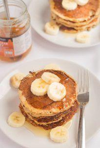 Banana Oat Pancakes - Neils Healthy Meals