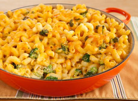 Mac & Cheese with Broccoli #simplepleasures #CDNcheese