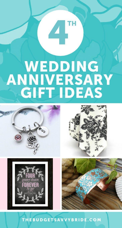 Fourth Wedding Anniversary Gift Ideas Wedding Anniversary Gifts