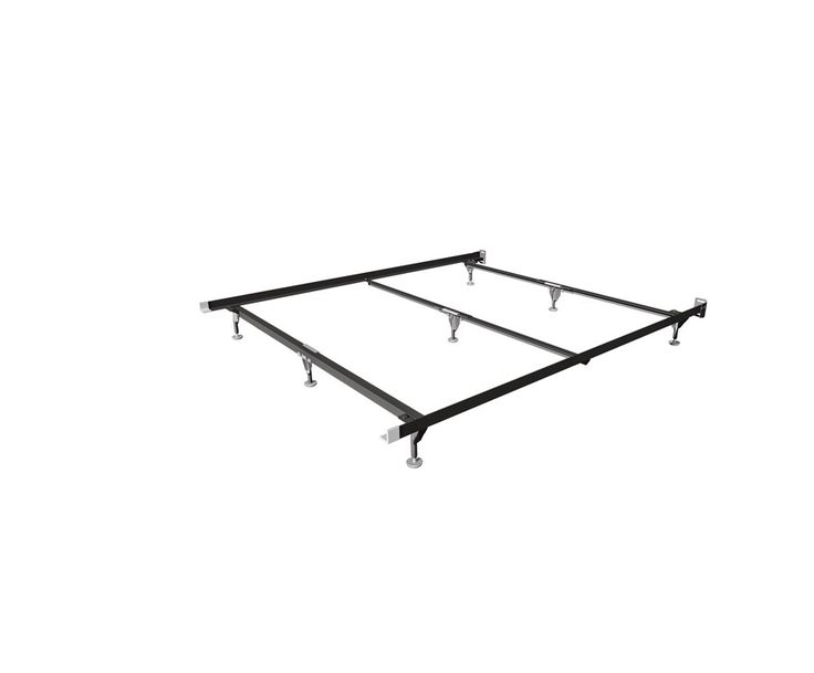 Heavy Duty Adjustable Bed Frame for Twin/Full Sizes