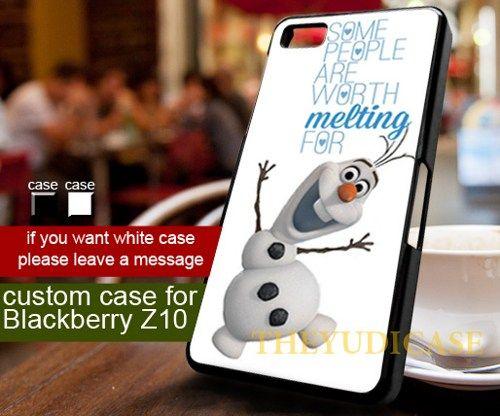 Olaf quote frozen Disney - Blackberry Z10 Case | TheYudiCase - Accessories on ArtFire