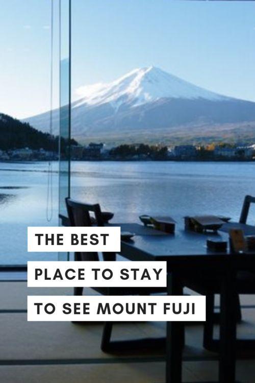 Where to Stay in Japan's Fujikawaguchiko: Kozantei…