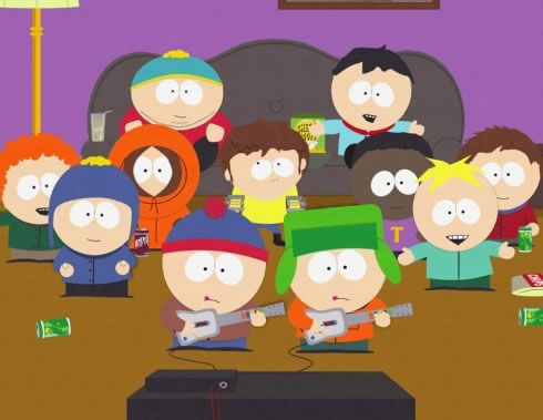 South Park.South Parks, Adult Cartoons, Movie, Parks Funny, I Plays Guitar, Guitar Heroes, Random Thoughts, Parks App, Southpark