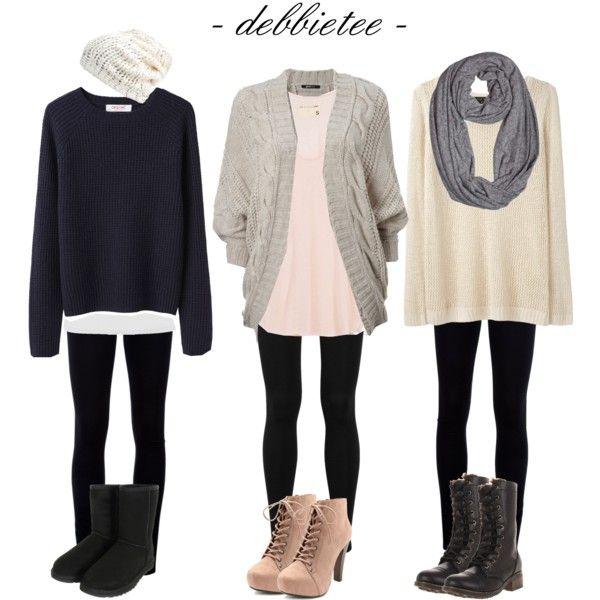 Looks de invierno muy cómodos y calentitos!! winter comfort outfits.