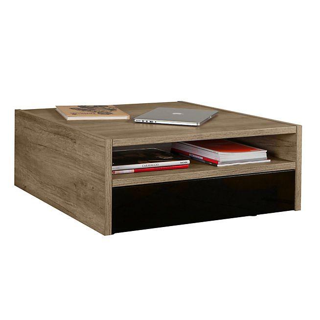Table basse palette avec tiroir for Table basse avec tiroir