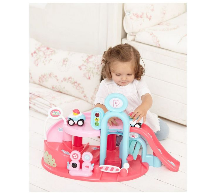 Buy whizz world garage pink toy cars vehicles and