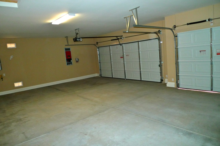 Extended length 3 car garage will fit full size truck at for Garage size for full size truck