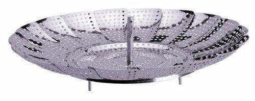 Foldable steamer basket for pressure cooker