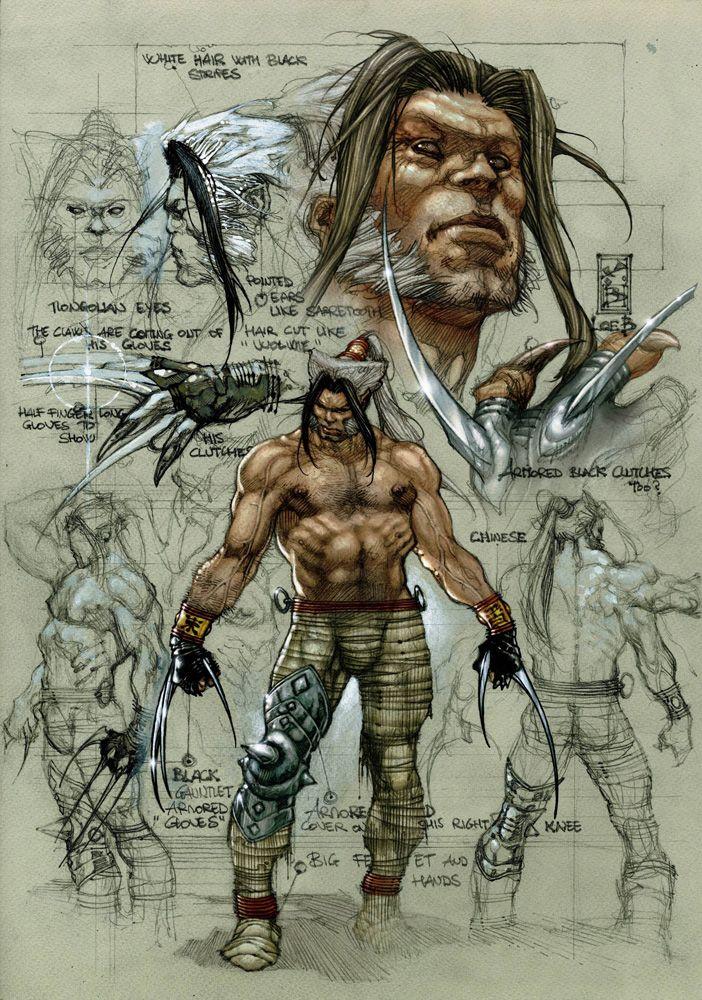 Romulus [ Wolverine Origins ] by Simone Bianchi