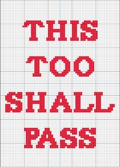 """Free chart made for a friend, feel free to use as you wish! Will fit a 5""""x7"""" frame when stitched on 14 count aida."""