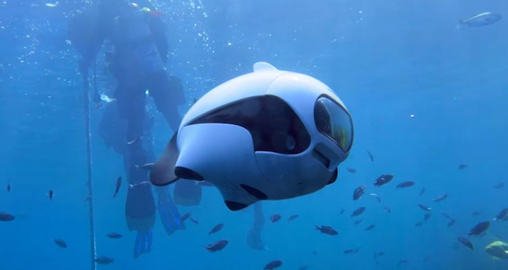 BIKI – Underwater Drone Designed To Look Like A Fish
