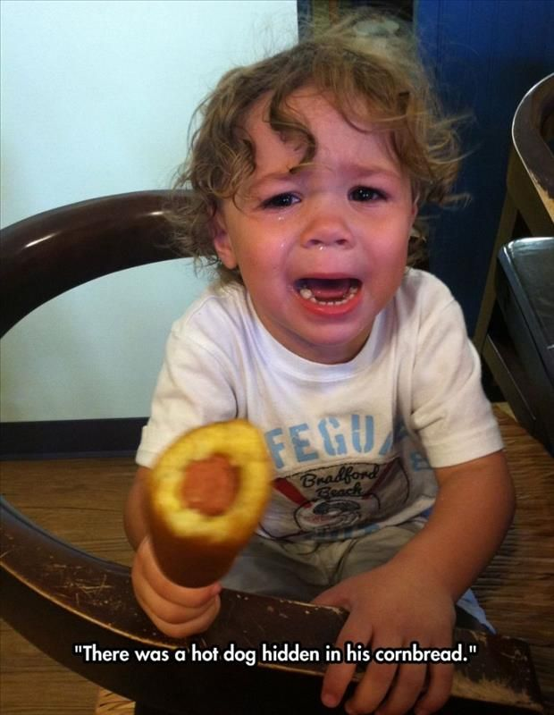 Funny reasons kids cry 1