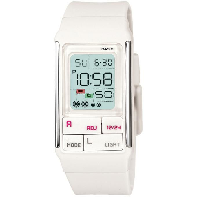 montre chronometre casio femme