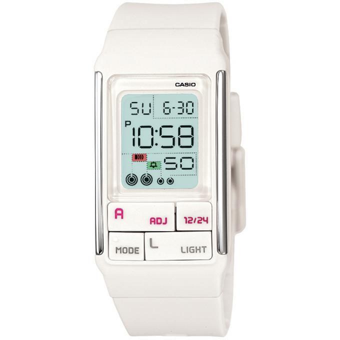 Montre Casio  , Montre Digitale Chronographe - Femme LDF-52-7AEF