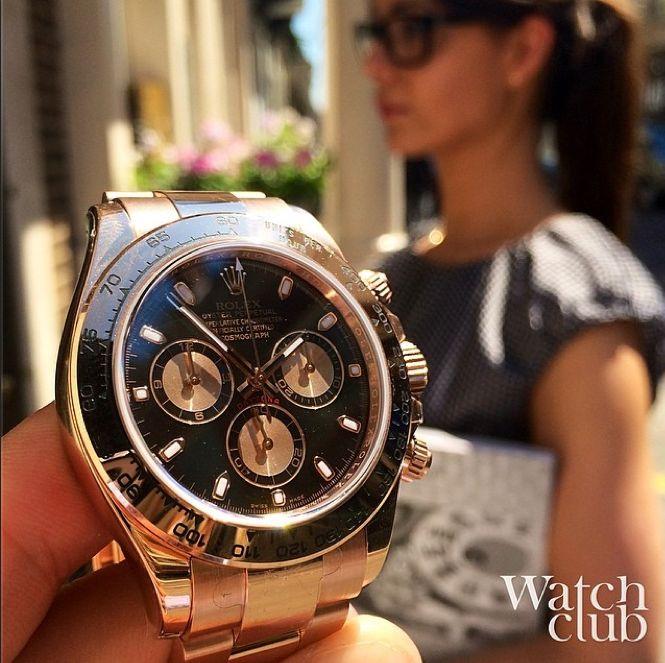 Women's Gold Rolex Daytona