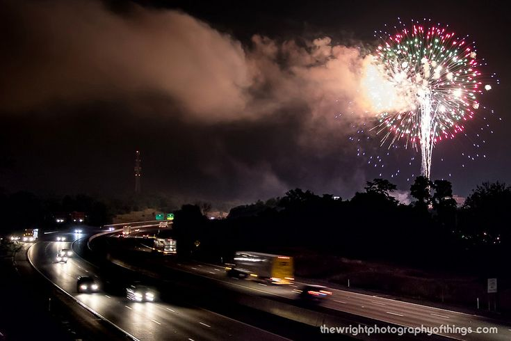 https://flic.kr/p/WfLrZc | BOMBS BURSTING IN AIR | Travelers on Interstate 81 were treated to a show as the Martinsburg 's Annual Fireworks Display lights up the night sky on this July 4th.