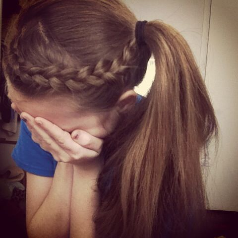 sport haircut styles my braided updo for sports cantbelieveididthis hair 1802