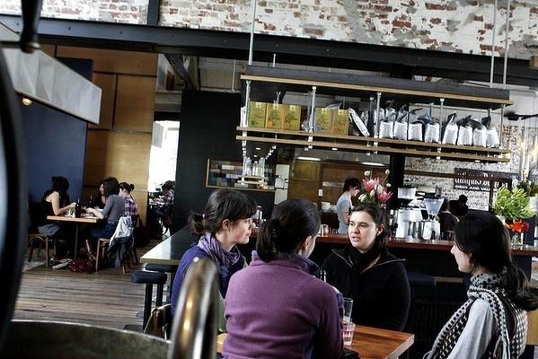 Eftpos best cafe: Auction Rooms, North Melbourne.