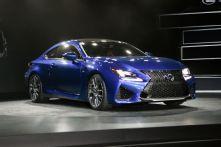 2015 Lexus RC F: Watch Detroit Show Unveiling Live - 2014 Detroit Auto Show