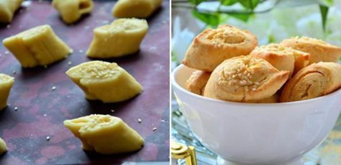 сырное печенье из 2-х плавленых сырков