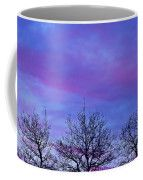 Tree Tops In The Sunset Coffee Mug