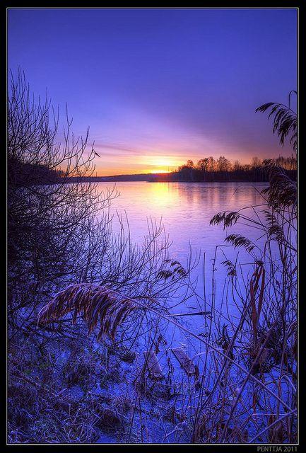 Lake Iidesjärvi, Tampere, Finland, penttja on Flickr