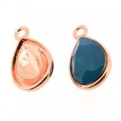 Charm for Swarovski Elements Teardrop Stones at www.glotty.com
