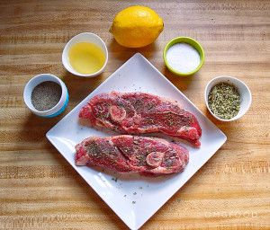 Broiled Lamb Shoulder Chops | omgfood.com