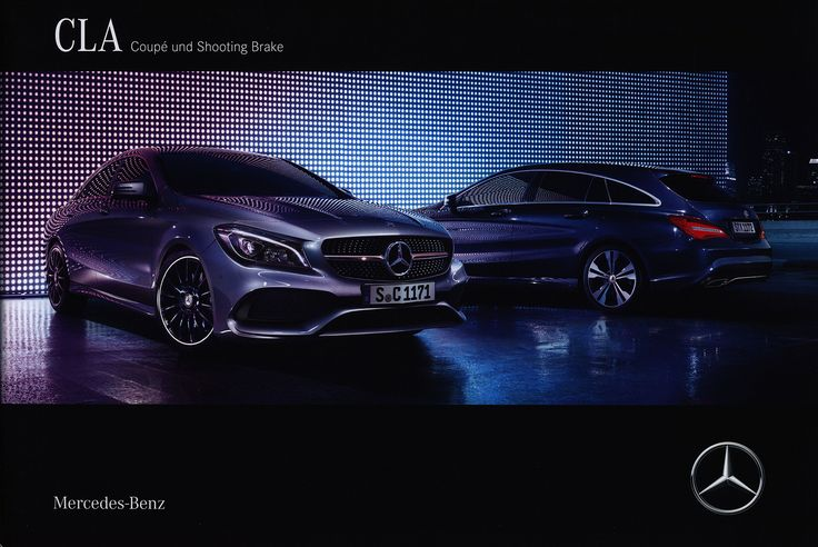 https://flic.kr/p/QZe4bQ | Mercedes-Benz CLA Coupé und Shooting Brake; 2016_1;   Mercedes-Benz Album: https://flic.kr/s/aHsjXuN8vT