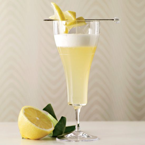 Jasmine Gin Fizz | Ryan Fitzgerald always wanted to incorporate the floral scent of jasmine tea into a cocktail. He chose to add it to the late-19th-century Silver Fizz by using gin infused with jasmine tea.